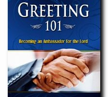 Greeter 101 Book